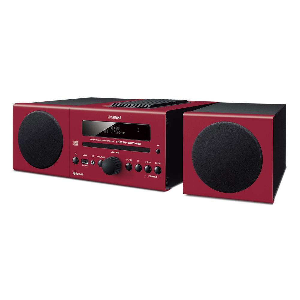 Yamaha MCR-B043R Red Micro Component System