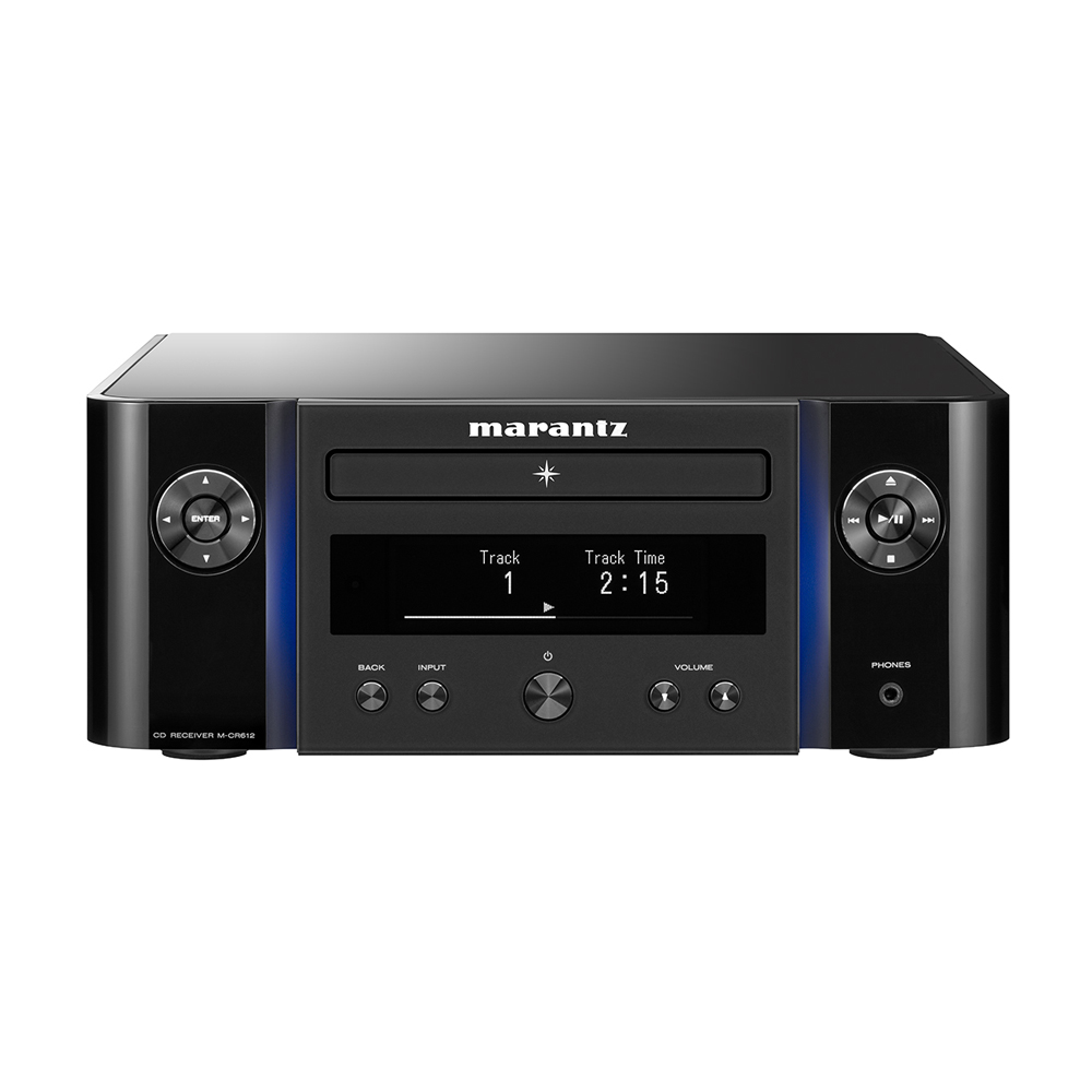 Marantz MCR612 Black Network Compact Disc Receiver