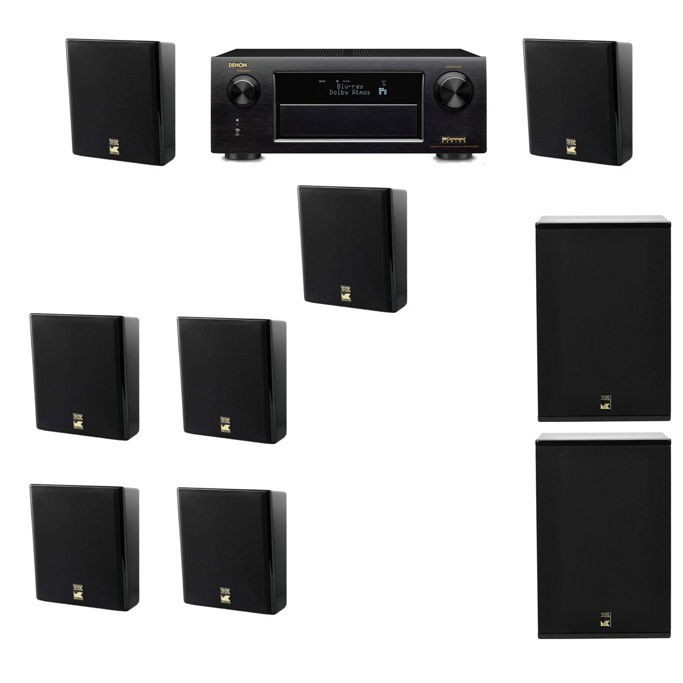 M&K Sound MP150II Wall Mounted Loudspeaker