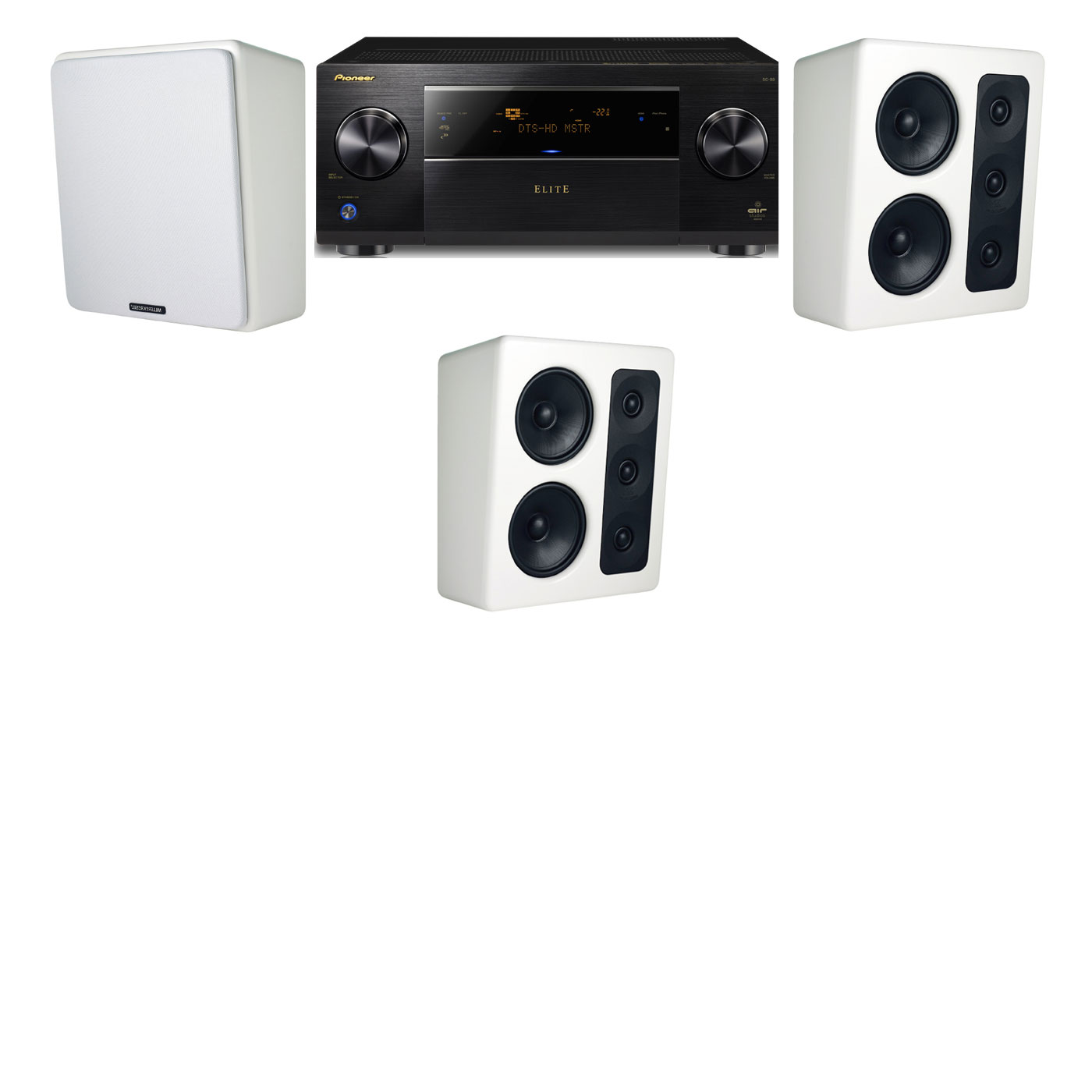 M&K Sound MP300 Monitor Speaker