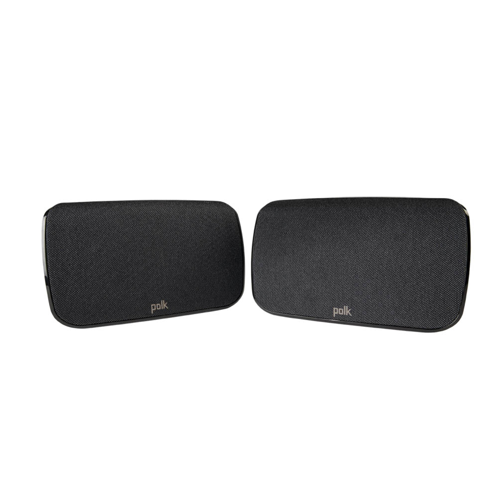 Polk Audio MagniFi-SR1-Surrounds Black Wireless Surround Speaker - Pair