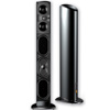 Definitive Technology Mythos ST SuperTower Floor-Standing Loudspeaker with Built-In Powered Subwoofers- Black