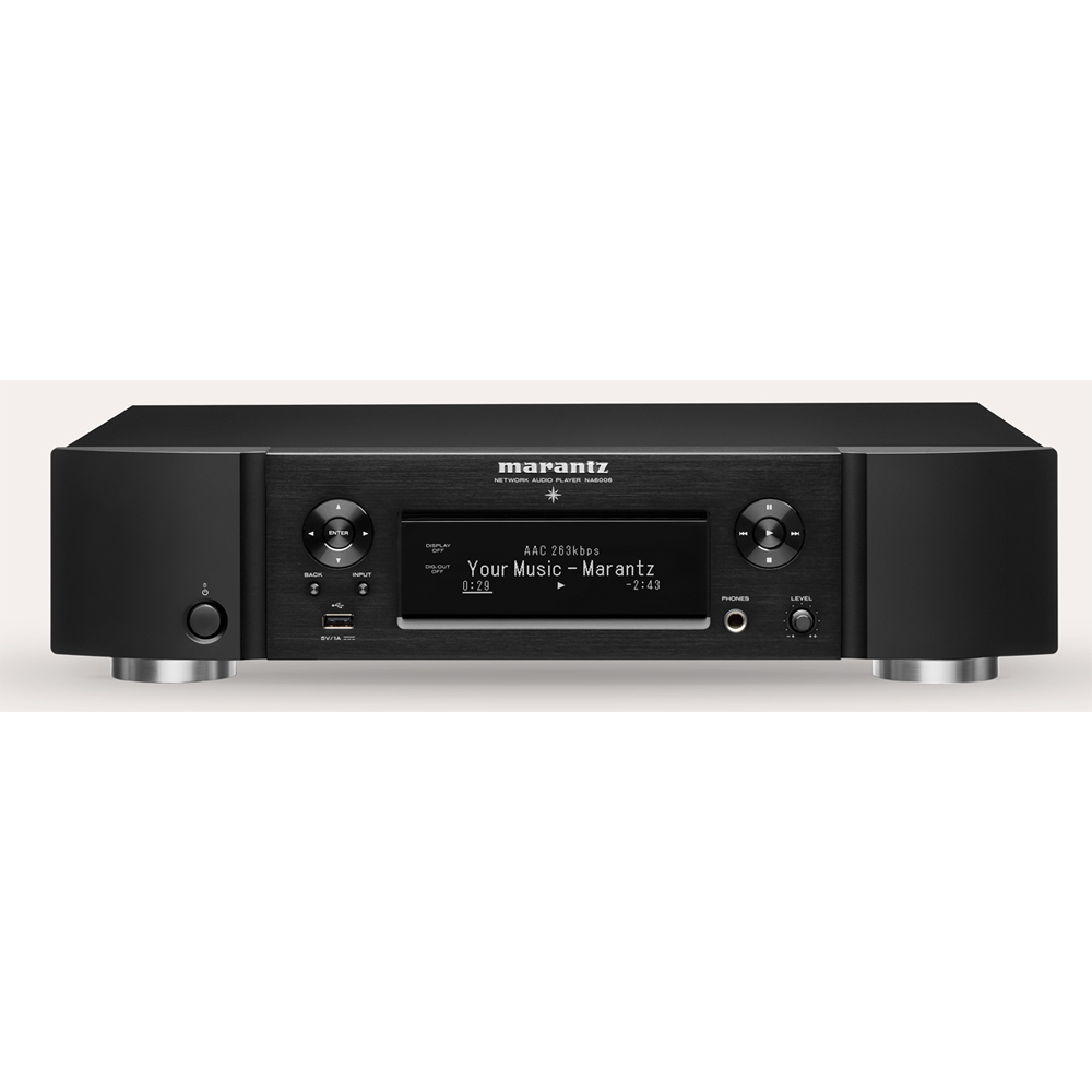 Marantz NA6006 Black Audiophile Network Audio Player