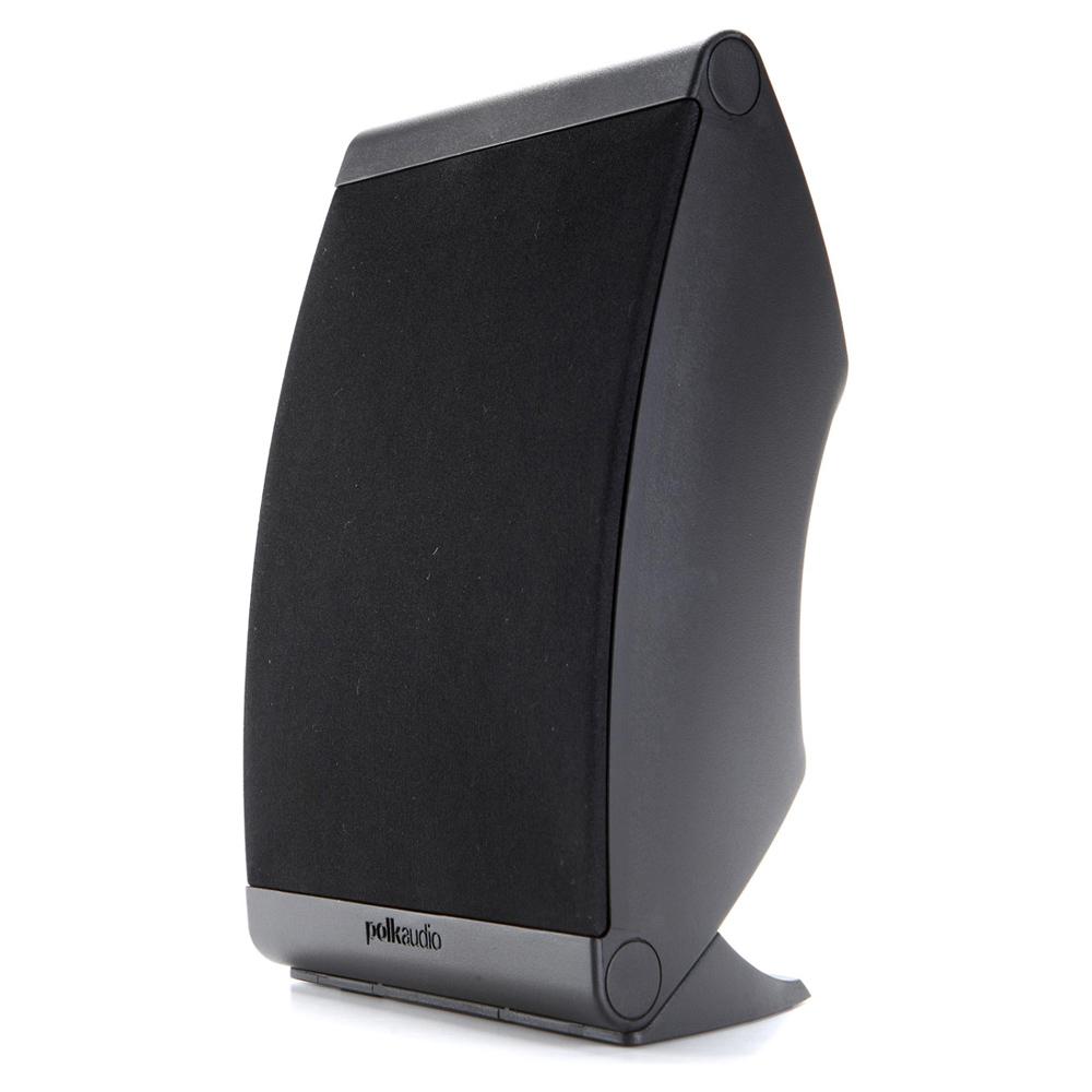 Polk Audio OWM-3-BLK Black Compact Loudspeaker - Pair