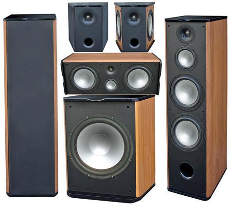 Premier Acoustic PA-8F Titanium Home Theater System
