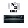 Premier Acoustic PA-1000 5.1 In Wall Theater System-Onkyo TX-NR626 7.2 - White