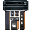 Onkyo PA-6F 5.1 Tower Speaker System,TX-NR626 7.2