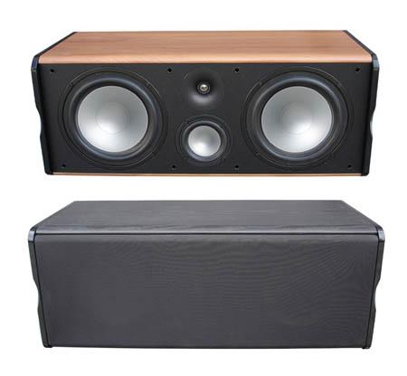 Premier Acoustic PA-8c Center Channel Speaker-BLACK - EACH