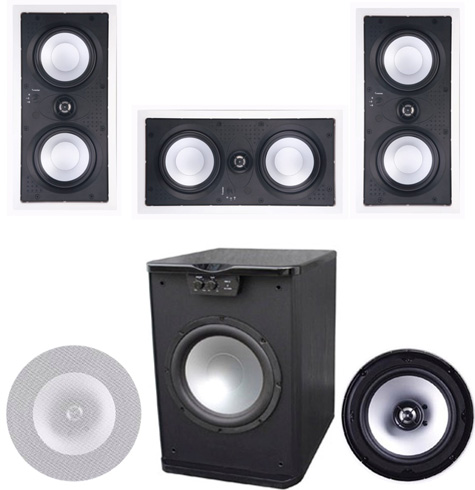 Premier Acoustic PA-515 Theater System