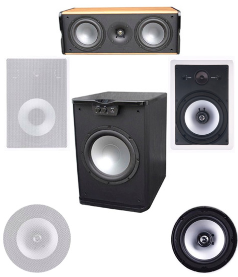 Premier Acoustic PA-8W In Wall System 1 - FREE SHIPPING