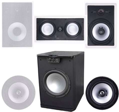 Premier Acoustic PA-8W In Wall  System 2