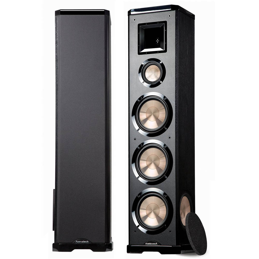 BIC Acoustech Platinum Series PL-980L Floorstanding Speaker - Left