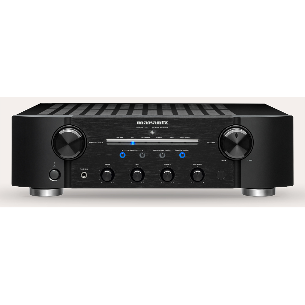 Marantz PM8006 Black Integrated Amplifier with New Phono EQ
