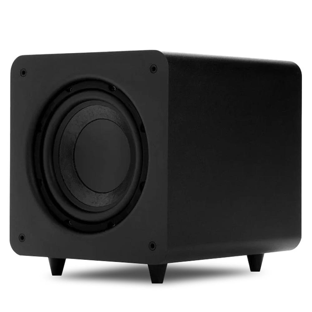 Polk Audio PSW111 Black 8Inch 300 Watt Compact Powered Subwoofer System