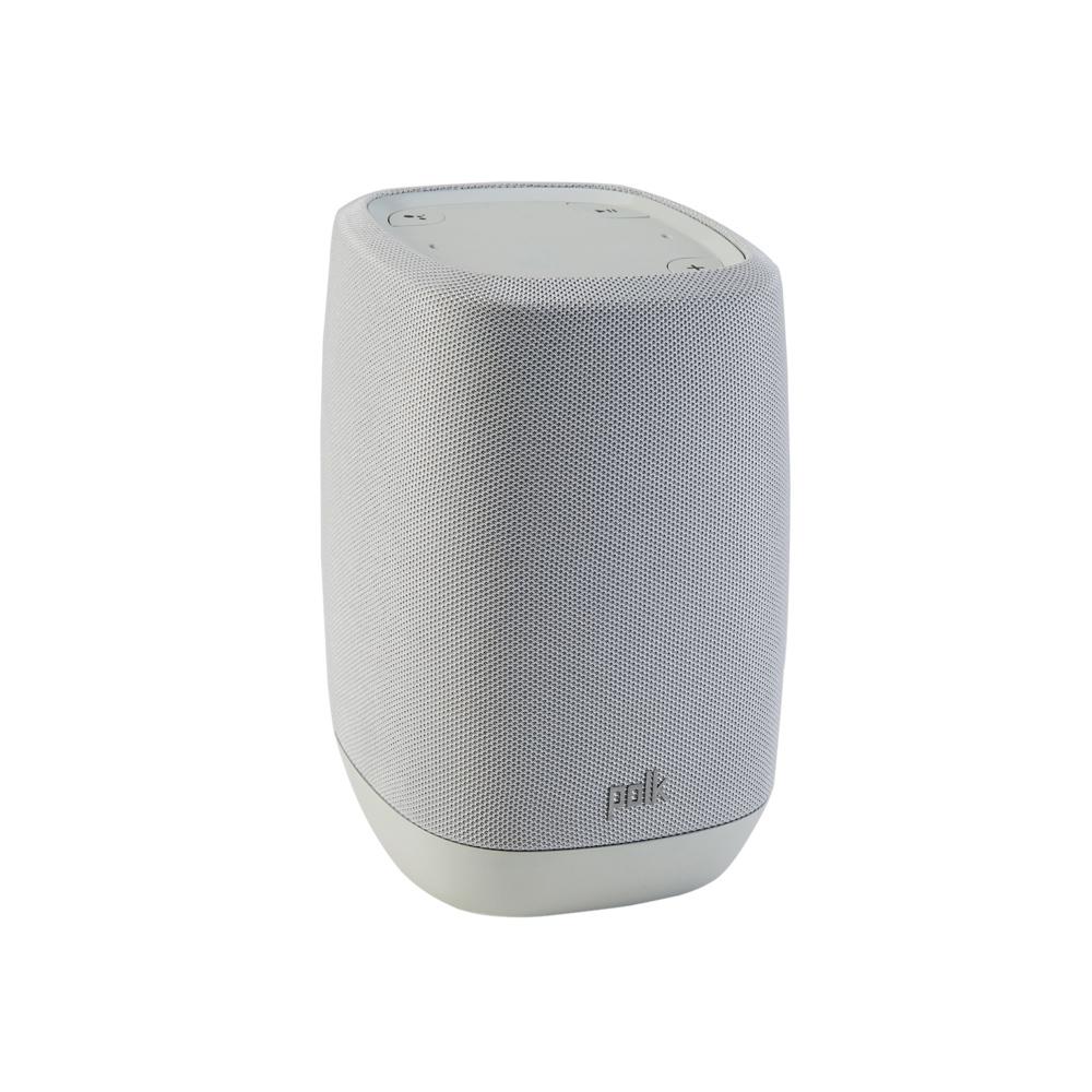 Polk Audio Polk-ASSIST-GR Gray Smart Speaker with Google Assistant Built-In