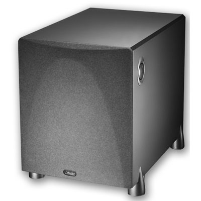 Definitive Technology ProSub 1000 High Output Compact Powered Subwoofer- Black