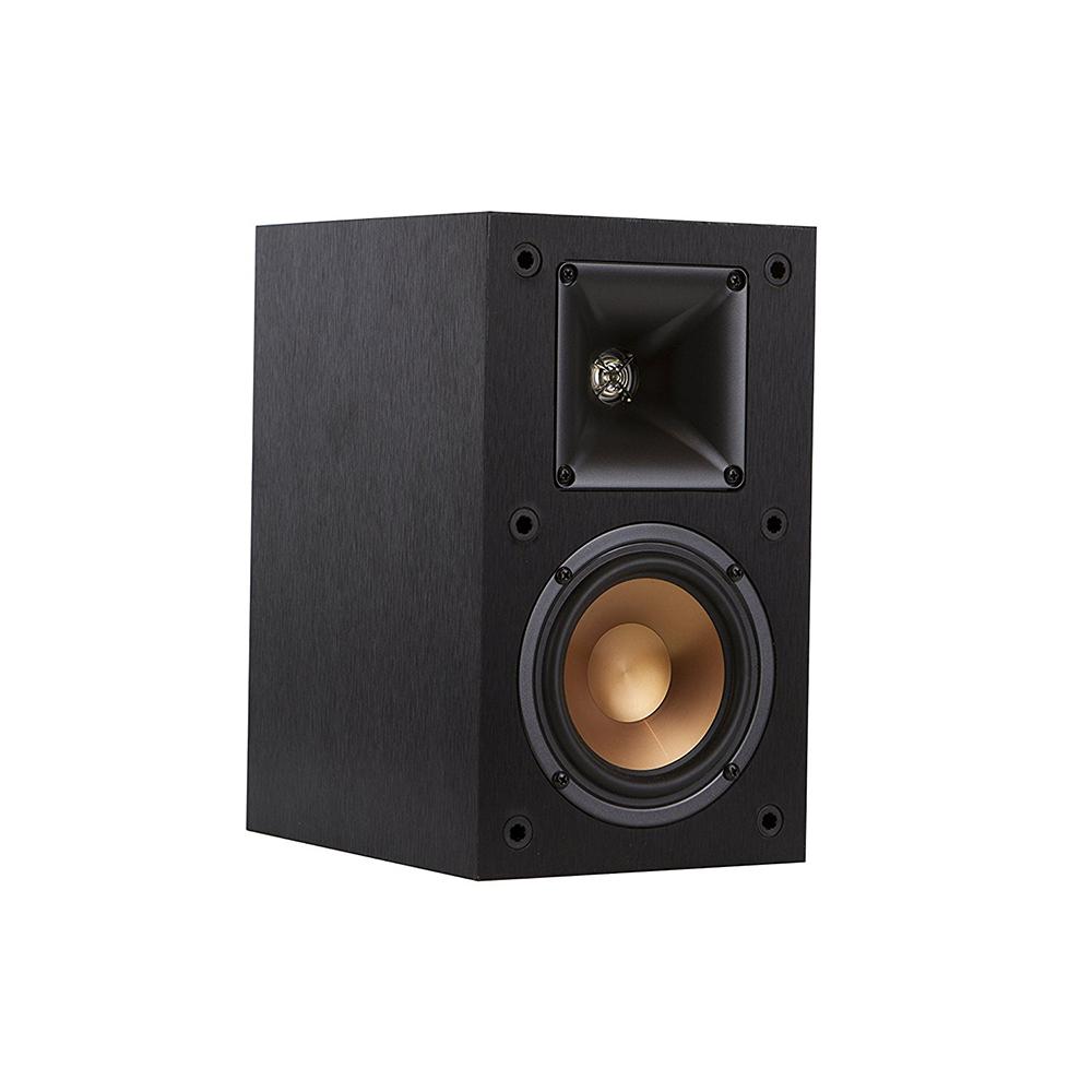 Klipsch R-14M Black Bookshelf Speakers - Pair