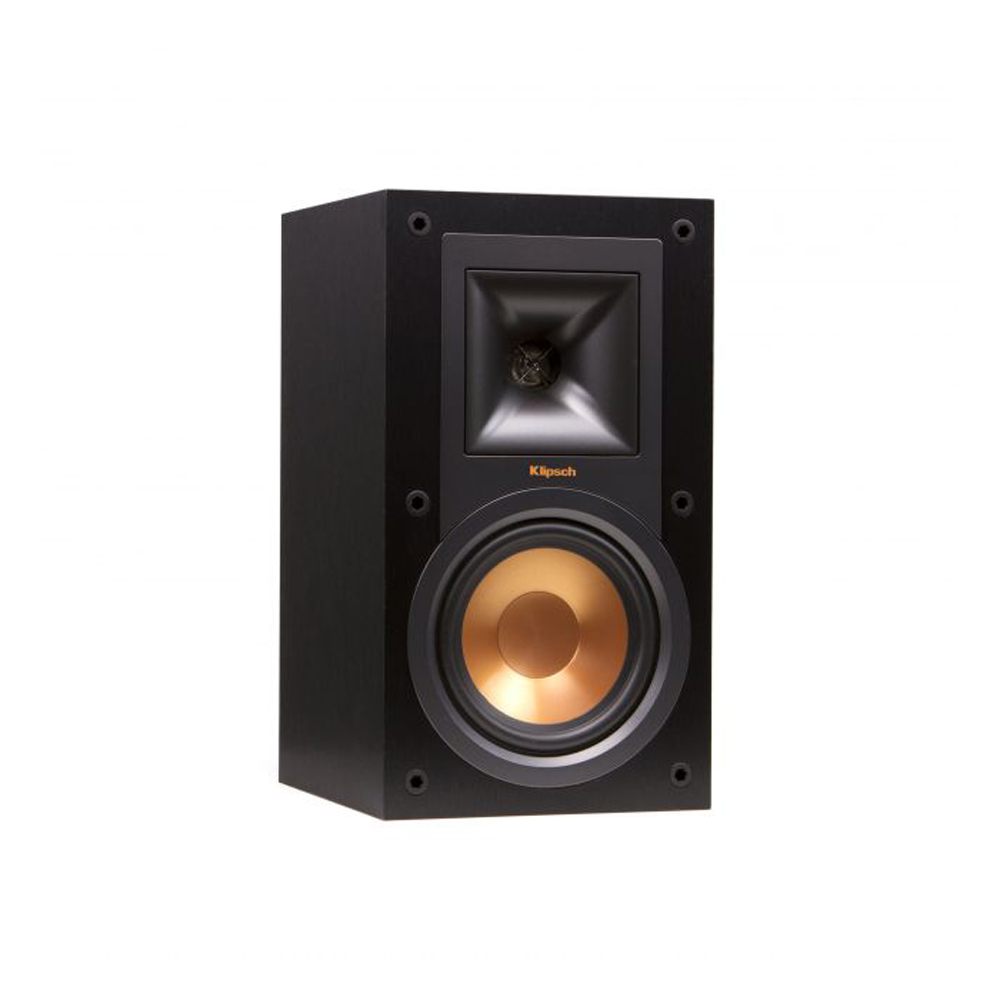 Klipsch R-15M Black Bookshelf Speakers - Pair