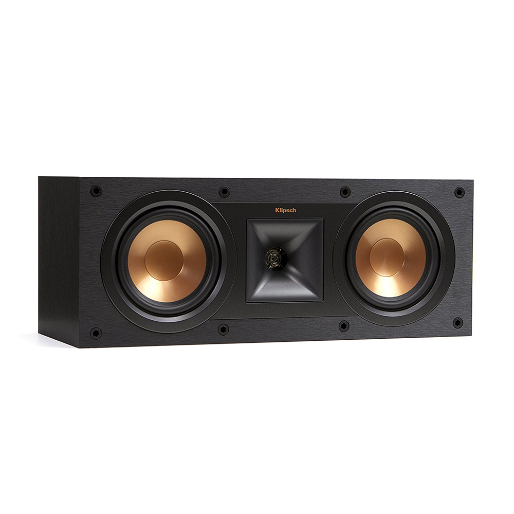Klipsch R-25C Black Center Speakers