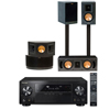 RB-41II Home Theater System-Pioneer VSX-1123-K 7.2 Channel -FREE SUB