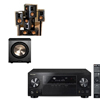 RB-51II Home Theater Bundle-Pioneer VSX-1123-K 7.2 Channel -FREE PL-200