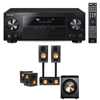 RB-81II Home Theater Bundle-Pioneer VSX-1123-K 7.2 Channel -FREE PL-200