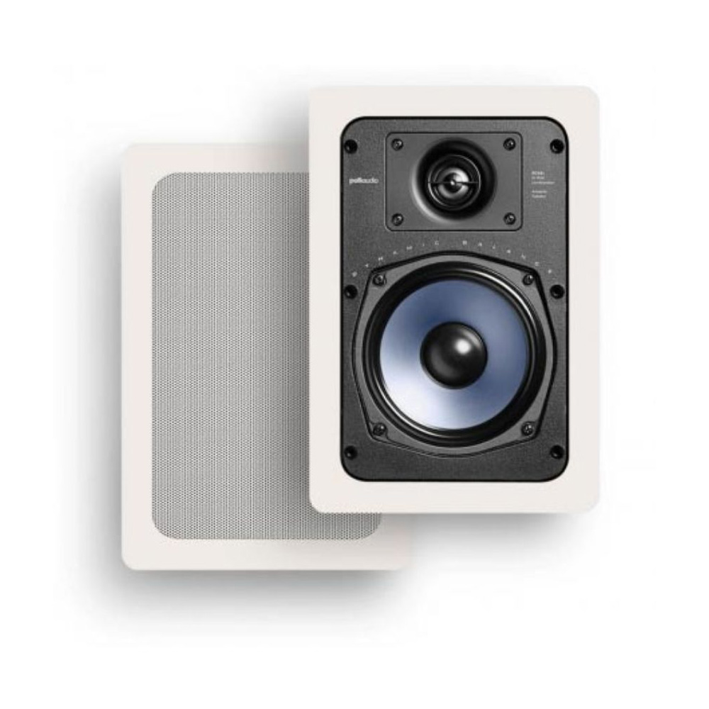 Polk Audio RC55i White In-Wall Speaker - Pair
