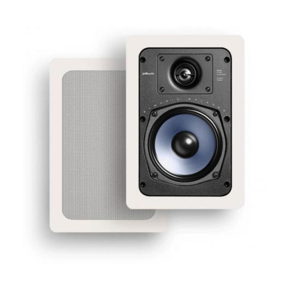 Polk Audio RC55i White In-Wall Speaker - Pair
