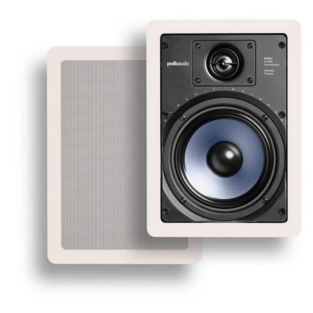 Polk Audio RC65i White In-Wall Speaker - Pair