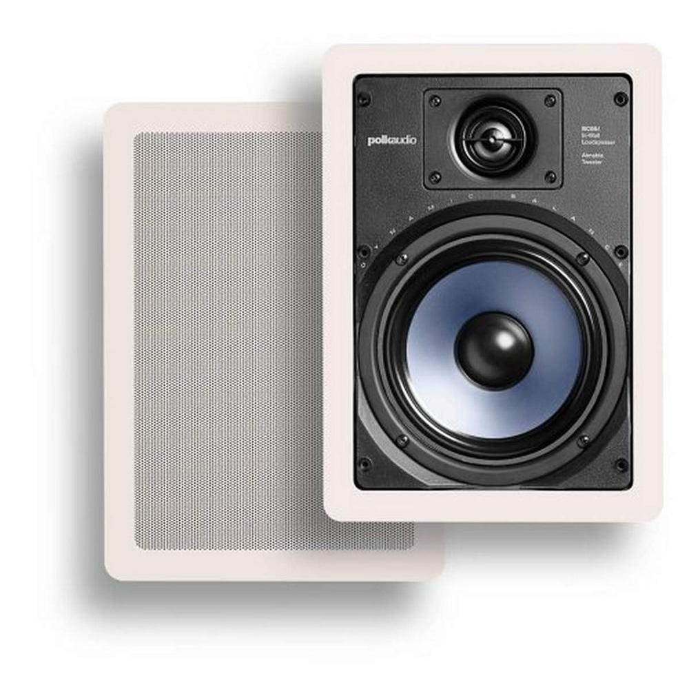 Polk Audio RC65i White In-Wall Speaker - Pair