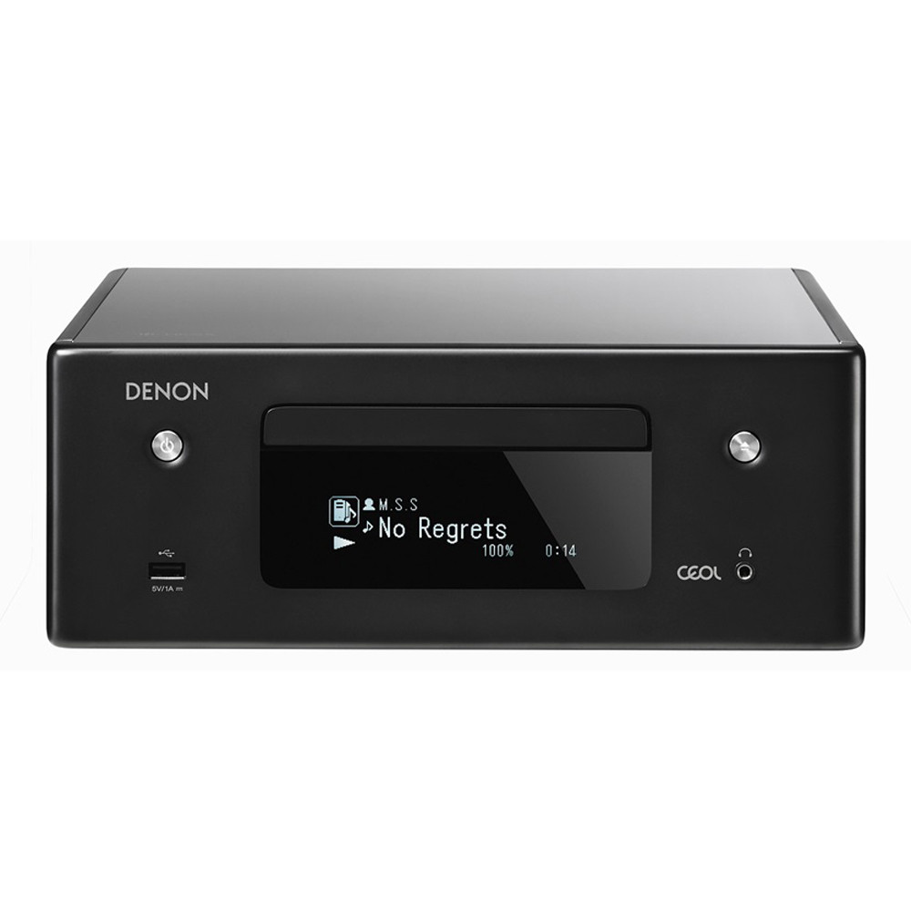 Denon RCD-N10 Black Network CD Player Receiver