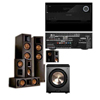 RF-62II Home Theater Bundle BLACK-Harman AVR 3700-BIC PL-200