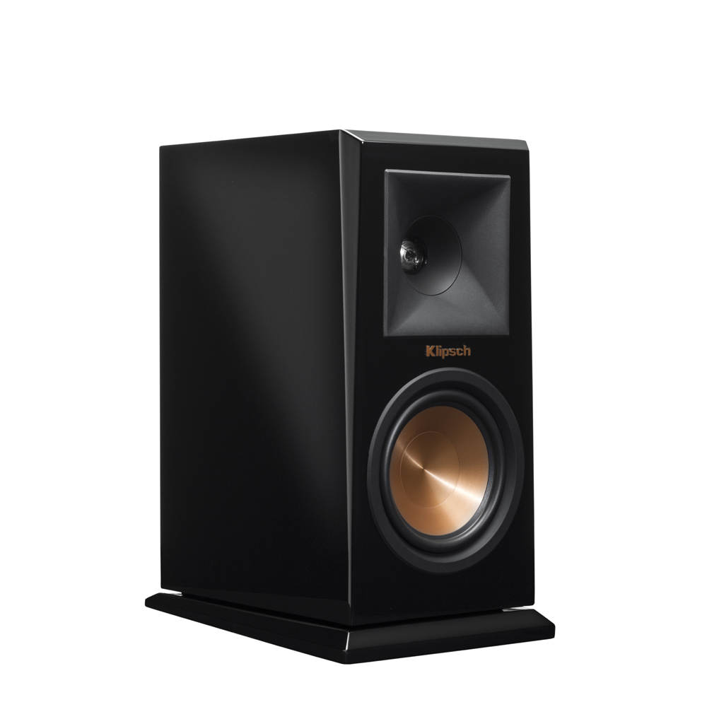 Klipsch RP-150M-PB Piano Black Bookshelf Speakers - Pair