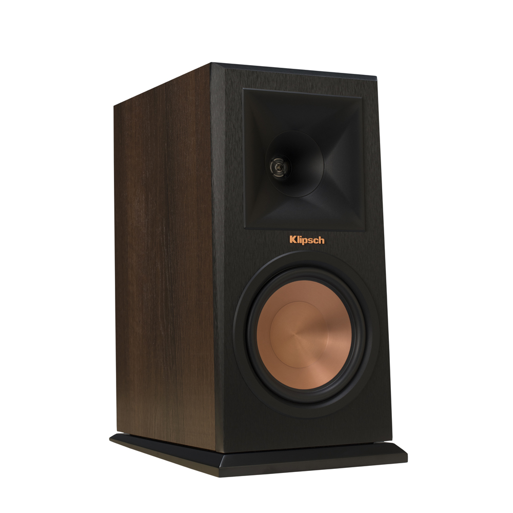 Klipsch RP-160M-WL Walnut Bookshelf Speakers - Pair
