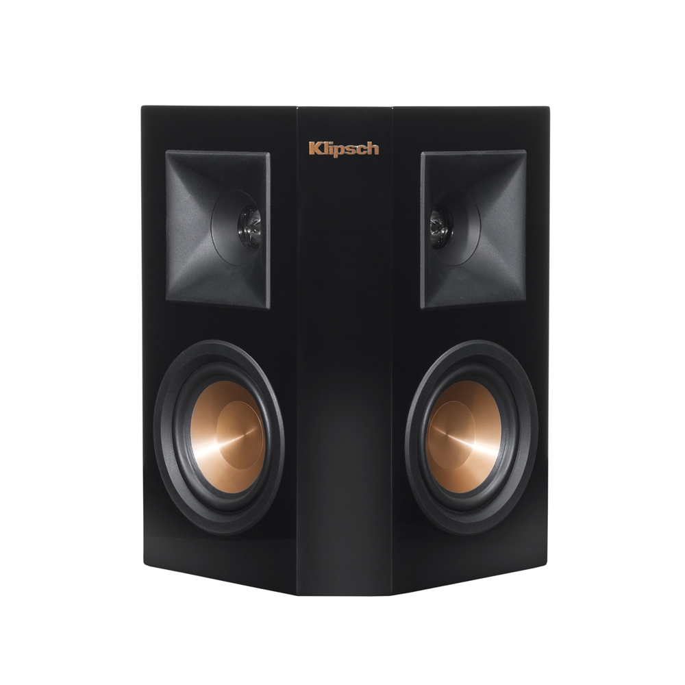Klipsch RP-240S-PB Piano Black Surround Sound Speaker