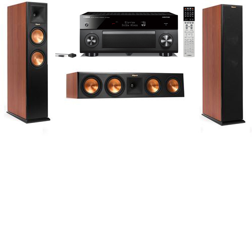 Klipsch RP-250F Tower Speakers CH-3.0-Yamaha RX-A2060