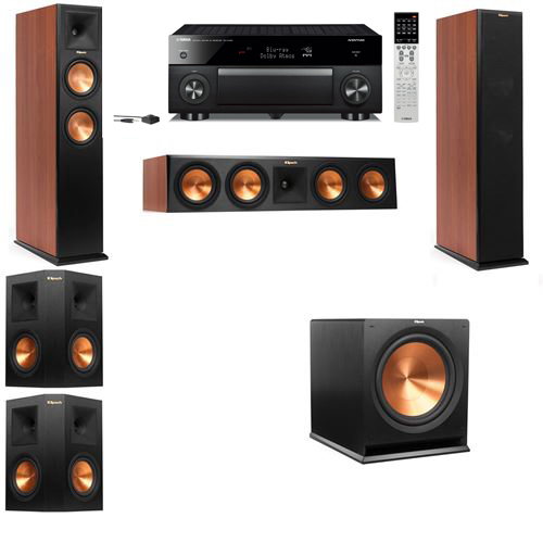 Klipsch RP-250F Tower Speakers CH-5.1-Yamaha RX-A1060