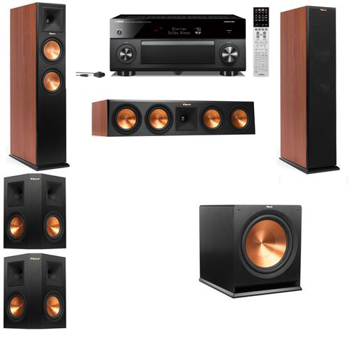 Klipsch RP-250F Tower Speakers CH-5.1-Yamaha RX-A2060