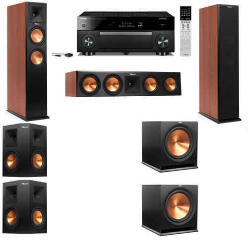 Klipsch RP-250F Tower Speakers CH-5.2-Yamaha RX-A1060