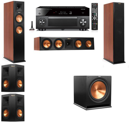 Klipsch RP-250F Tower Speakers CH-5.1-Yamaha RX-A3060