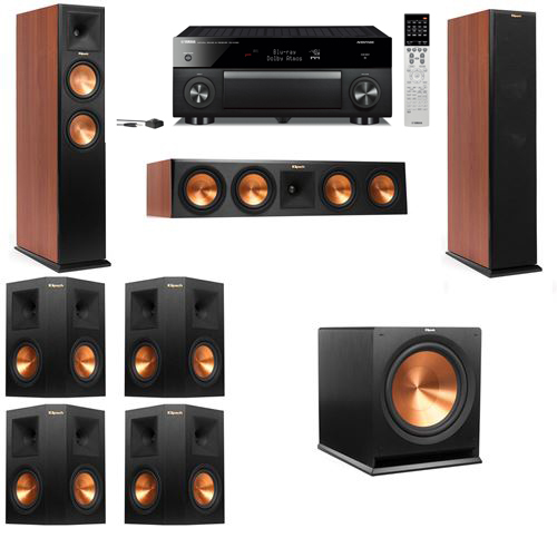 Klipsch RP-250F Tower Speakers CH-7.1-Yamaha RX-A1060