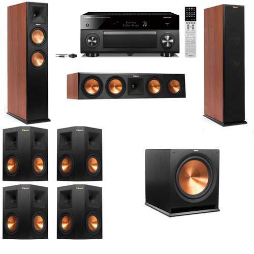 Klipsch RP-250F Tower Speakers CH-7.1-Yamaha RX-A2060