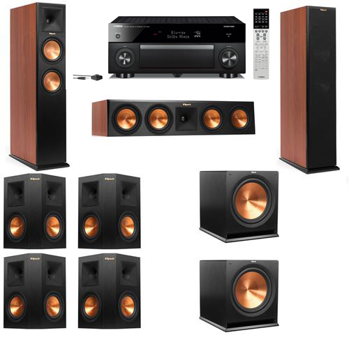 Klipsch RP-250F Tower Speakers CH-7.2-Yamaha RX-A1060