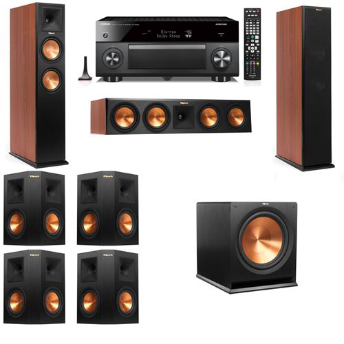Klipsch RP-250F Tower Speakers CH-7.1-Yamaha RX-A3060
