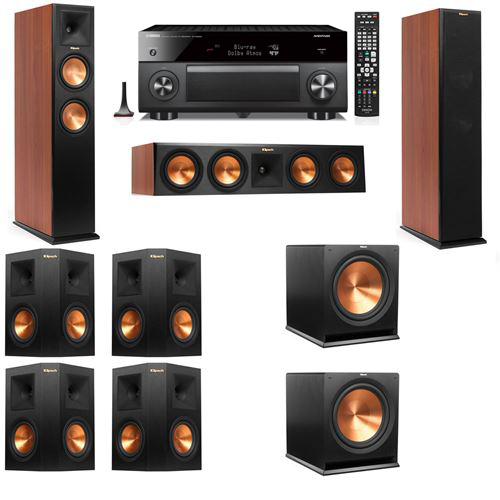 Klipsch RP-250F Tower Speakers CH-7.2-Yamaha RX-A3060