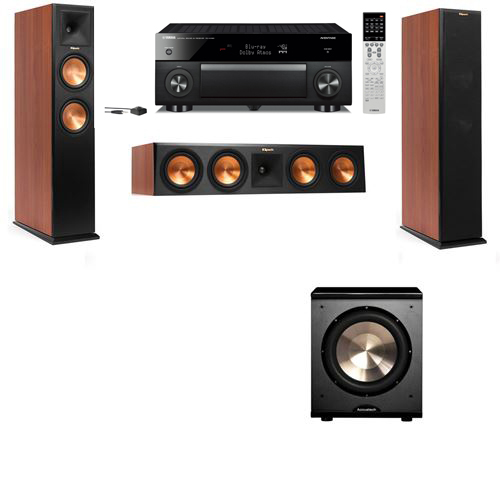 Klipsch RP-250F Tower Speakers CH-PL-200-3.1-Yamaha RX-A1060