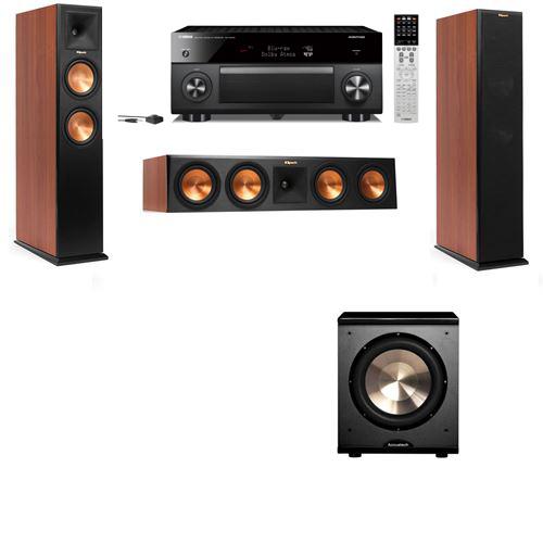 Klipsch RP-250F Tower Speakers CH-PL-200-3.1-Yamaha RX-A2060