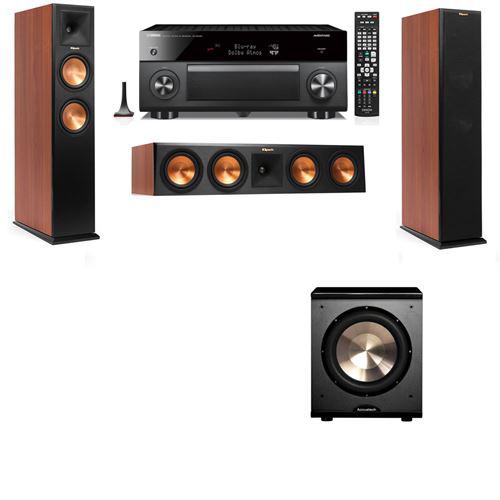 Klipsch RP-250F Tower Speakers CH-PL-200-3.1-Yamaha RX-A3060