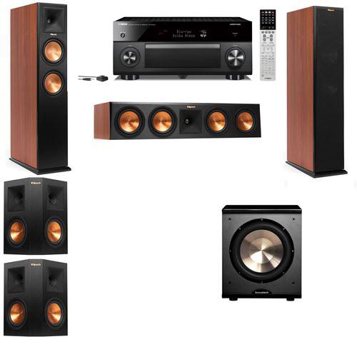 Klipsch RP-250F Tower Speakers CH-PL-200-5.1-Yamaha RX-A2060