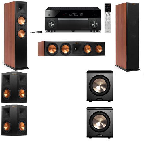Klipsch RP-250F Tower Speakers CH-PL-200-5.2-Yamaha RX-A1060